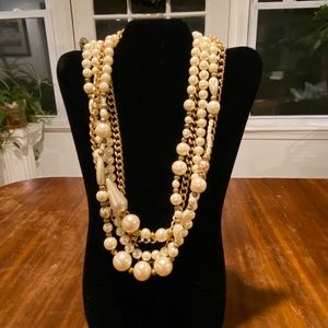❤️❤️Custom Gold and Pearl Necklace